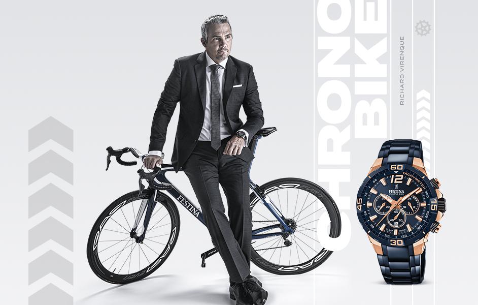 Der neue Chrono Bike Chronograph F20524-1 in nummerierter Auflage.