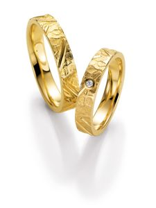 Eheringe von Juwelier Riedel in Gelbgold 585