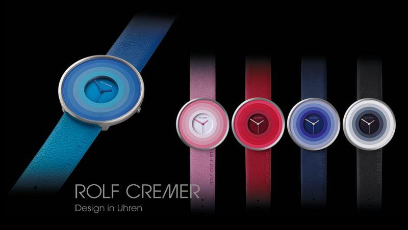 Die Rolf Cremer Uhren Serie Target mit den Modellen 505801, 505802, 505803, 505804, 505805 und 505808