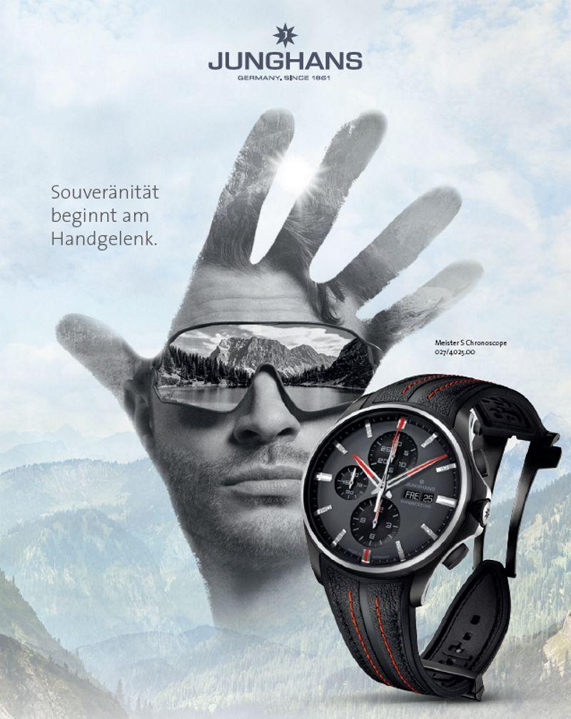Junghans Uhren bei schmuckshopping.de, hier der neue Meister Chronoscope in limitierter Auflage 027-4025-00.