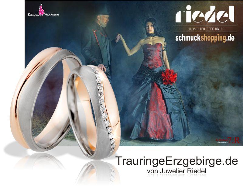 Trauringe von Juwelier Riedel - Ihr familiengeführter Juwelier im Erzgebirge - Tradition seit 1862