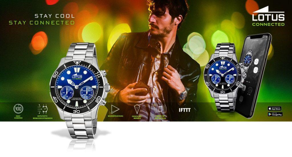 Die neuen smarten Uhren von Lotus - Lotus Connected