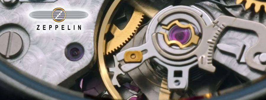 mechanisches Uhrwerk der Zeppelin Uhren