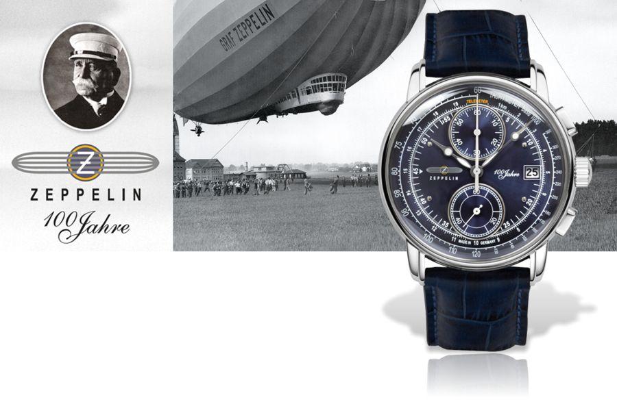 Zeppelin Uhren made in Germany